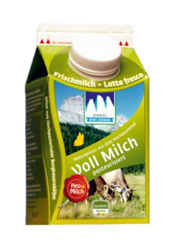 500ml Heumilch